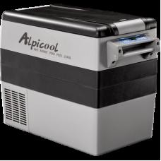 Компрессорный автомобильный двухкамерный холодильник Alpicool CF-55 (55 литров) 12/24/220V Вольт