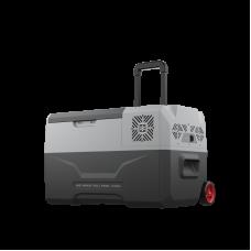 Компрессорный автомобильный холодильник Alpicool CX30 (30 литров) 12/24/220V Вольт (на колесиках)