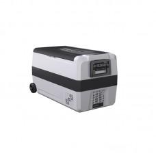 Компрессорный автомобильный двухкамерный холодильник Alpicool T36 (36 литров) 12/24/220V Вольт (на колёсиках)