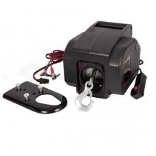 Лебедка переносная электрическая Electric Winch 2000LBS 12V Вольт (сталь) - 907 кг