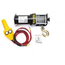 Лебедка электрическая для ATV квадроцикла Electric Winch 3000LBS 12V Вольт (сталь) - 1360 кг