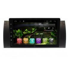 Штатная магнитола BMW X5 E53 экран 9 дюймов Android