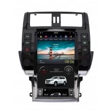 Штатная магнитола Toyota Land Cruiser Prado 150 2010-2013 в стиле Tesla Android