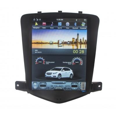 Штатная магнитола Chevrolet Cruze 2008-2012 в стиле Tesla Android