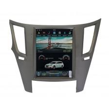 Штатная магнитола Subaru Legacy/Outback 2010-2014 в стиле Tesla Android