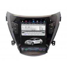 Штатная магнитола Hyundai Elantra, Avante 2010-2013 в стиле Tesla Android