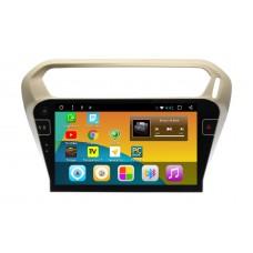 Штатная магнитола устройство Peugeot 301 Android