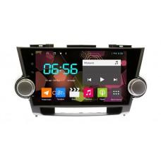 Штатная магнитола Toyota Highlander 2008-2013 Android (8 core / 64 Gb / 4 GB Ram) Sim 4G