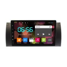 Штатная магнитола BMW X5 E53 экран 9 дюймов Android (8 core / 64 Gb / 4 GB Ram) Sim 4G