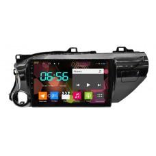 Штатная магнитола Toyota Hilux 2015 + Android (8 core / 64 Gb / 4 GB Ram) Sim 4G