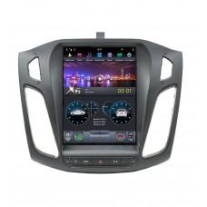 Штатная магнитола тесла X6 для Ford Focus 3 (2011+) 6 Core Android