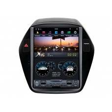 Штатная магнитола тесла X6 для Hyundai IX35 Android
